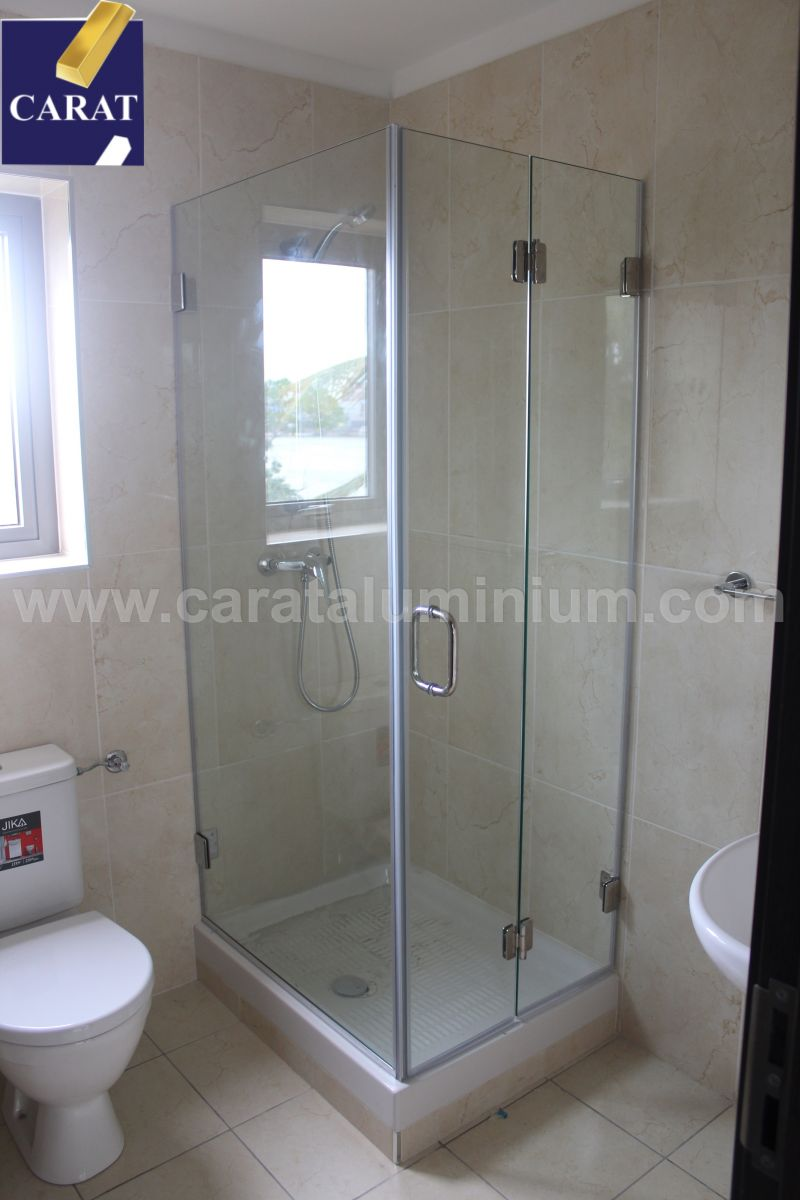 Custom Made Frameless Glass Shower Enclosures Carat Aluminium And