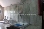 3-SIDED SQUARE SHOWER ENCLOSURE