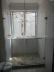 STANDARD INLINE SHOWER WITH TOWEL RAIL HANDLE